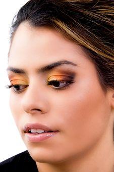 Free Close Up Of Eye Make Up Stock Photos - 9743193