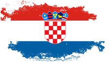 Free Grunge Croatia Flag Royalty Free Stock Image - 9744146