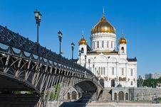 Free Cathedral Of Christ The Savior Royalty Free Stock Photo - 9744295