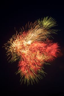 Free Fireworks Royalty Free Stock Photography - 9745017