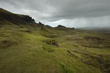 Free Quiraing Pas On Skye Stock Images - 9745024