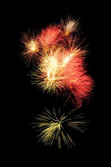 Free Fireworks Royalty Free Stock Image - 9745336