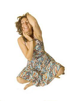 Free Happy Woman Royalty Free Stock Photo - 9745585