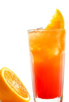 Free Cocktail - Tequila Sunrise Royalty Free Stock Photos - 9746698