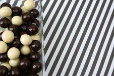 Free Chocolate Balls Stock Image - 9747061