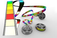 Free Film Reels Stock Photography - 9747912