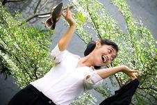 Free Business Woman Freedom Stock Photo - 9748010