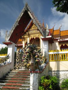 Free Thailand Temple Royalty Free Stock Photo - 9748305
