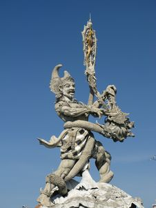 Free Bali Sculpture Stock Photos - 9748343