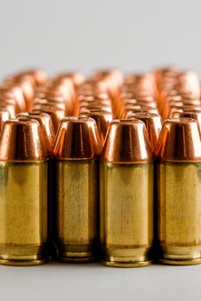 Free .45 Acp Ammunition 2 Royalty Free Stock Image - 9749416