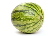 Free Whole Watermelon Royalty Free Stock Photo - 9749735