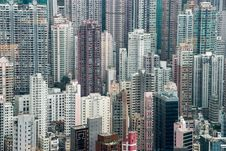 Free Hong Kong Skyline Stock Image - 97447461