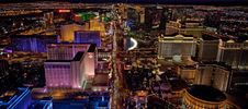 Free Las Vegas Aerial View Royalty Free Stock Image - 97447486