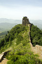 Free Great Wall On Top Of A Hill Stock Images - 9754174