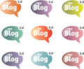 Free Chat Bubles Royalty Free Stock Image - 9758656
