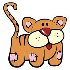 Free Plush Kitten Toy Royalty Free Stock Photo - 9750095