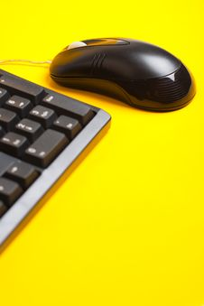 Free Mouse And Keyboard Royalty Free Stock Image - 9750406