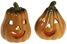 Free Ceramic Pumpkins Stock Image - 9751291