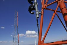 Free Weather And Aircraft Antennas Stock Photography - 9751432