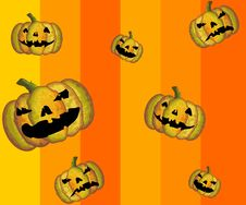 Free Vector Halloween Pattern Stock Photography - 9751862