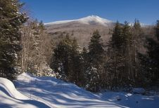 White Mountains In The Winter Stock Photography