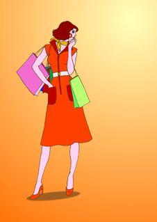Free Shopping Mania Stock Images - 9752294