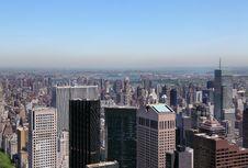 Free Manhattan Skyline Stock Photography - 9753072