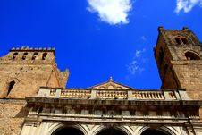 Free Monreale Norman Cathedral On Bliue Sky, Sicily Stock Photo - 9753260