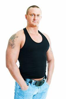 Guy In Jeans Stock Image