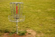 Free Disc Golf Hole Stock Image - 9753891