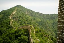Free Ancient Bricks And Stones Of The Great Wall Royalty Free Stock Photography - 9754007