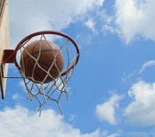 Free Basketball Shot Stock Photography - 9754062