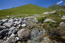 Free Burn Creek. Stock Image - 9755021