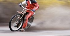 Free Motorcycle Speedway Rider Stock Photo - 9755670