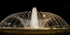 Free Fountain At Night Stock Photography - 9755732