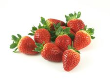 Free Strawberries Royalty Free Stock Images - 9756039