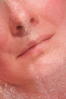 Free A Part Of Woman Face Close-up Royalty Free Stock Photography - 9756287