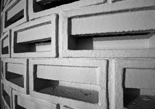 Free Ventilated Brick Wall Stock Photography - 9756882