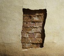 Free Cracked Wall Stock Photo - 9757010