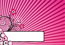 Free Pink Background Design Royalty Free Stock Photos - 9757878