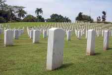 Free Military Cemetery Stock Photo - 9758170