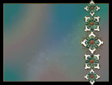 Photo Background  Fractal Layout Design Royalty Free Stock Photography