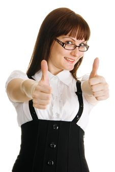 Free Thumbs Up! Royalty Free Stock Image - 9758986