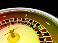 Free Casino Roulette Royalty Free Stock Photo - 9759185
