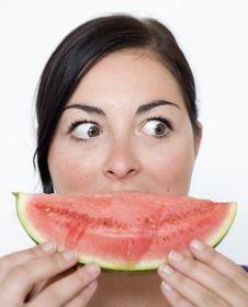 Free Melon Smile Stock Photography - 9759692