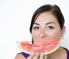 Free Melon Smile Stock Photography - 9759762