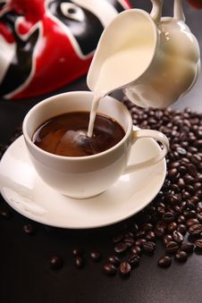 Free Coffee, Coffee Cup, Espresso, Cup Stock Photo - 97593400