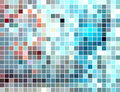 Free Abstract Square Tiled Mosaic Background Royalty Free Stock Images - 9761159
