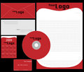 Free Corporate Identity Template Vector Set Stock Photography - 9763122