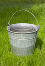 Free Bucket On The Grass Stock Image - 9765011